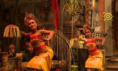 Gamelan & Dances, Peliatan, Ubud - Bali, Indonesia