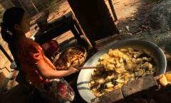 Aloojaw (Potato Chips) Factory, Kyaukpadaung - Myanmar