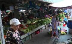 Morning market in Ho Chi Minh City, Vietnam
