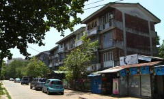 U Wisara Einya, Neighbourhood of Yangon, Myanmar